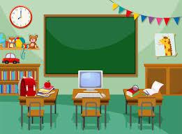 A empty computer classroom - Download Free Vectors, Clipart Graphics &  Vector Art